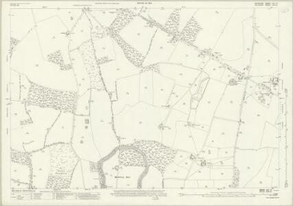 Berkshire XXV.10 (includes: Baydon; Lambourn; Ramsbury) - 25 Inch Map