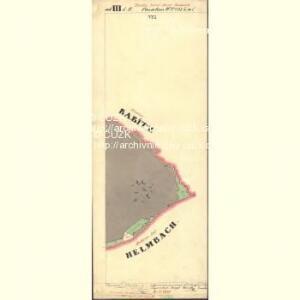 Passeken - c5642-1-018 - Kaiserpflichtexemplar der Landkarten des stabilen Katasters