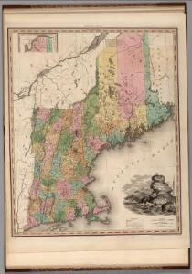 Maine, New Hampshire, Vermont, Massachusetts, Connecticut & Rhode Island.