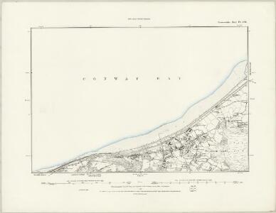 Caernarvonshire III.SE - OS Six-Inch Map