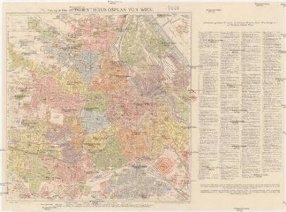 G. Freytag & Berndt's Orientierungsplan von Wien