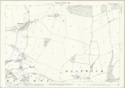 Hertfordshire XXX.11 (includes: Eastwick; Gilston; High Wych; Hunsdon) - 25 Inch Map