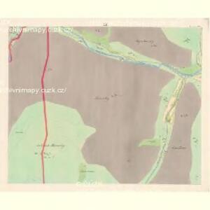 Lomna (Lomno) - m0508-1-008 - Kaiserpflichtexemplar der Landkarten des stabilen Katasters