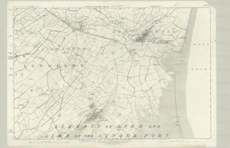 Kent LXXXIV - OS Six-Inch Map