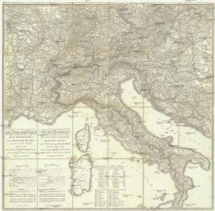 carta delle poste e stazioni militari per le provincie d italia
