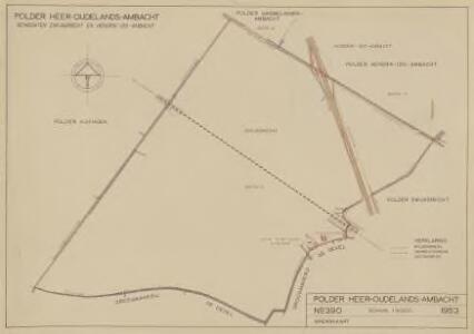 Polder Heer-Oudelands-Ambacht, gemeente Zwijndrecht en Hendrik-Ido-Ambacht.