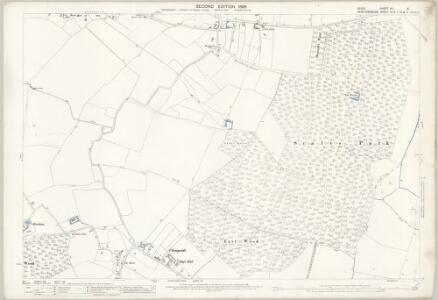 Essex (1st Ed/Rev 1862-96) VII.16 (includes: Anstey; Nuthampstead) - 25 Inch Map
