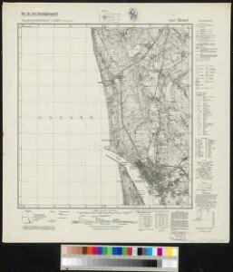 Messtischblatt 292 : Memel, 1942 Memel