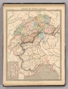 Suisse et Etats Sardee.