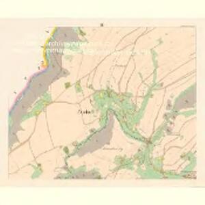 Pietschin (Pieczin) - c5749-1-003 - Kaiserpflichtexemplar der Landkarten des stabilen Katasters