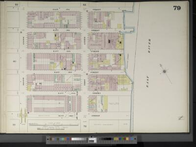 Manhattan, V. 4, Double Page Plate No. 79  [Map bounded by E. 47th St., East River, E. 42nd St., 2nd Ave.]