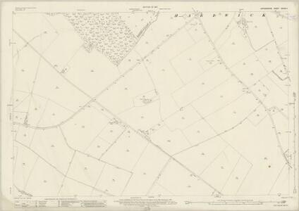 Oxfordshire XXXVIII.1 (includes: Hardwick with Yelford; Standlake) - 25 Inch Map