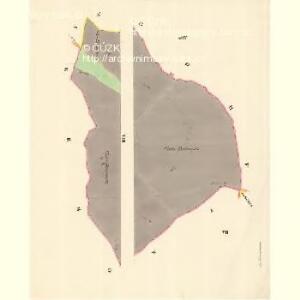 Hostaschowitz - m0849-1-006 - Kaiserpflichtexemplar der Landkarten des stabilen Katasters
