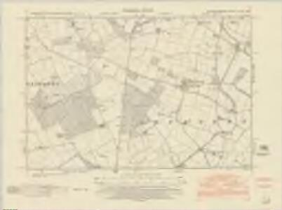 Nottinghamshire XLVII.NW - OS Six-Inch Map