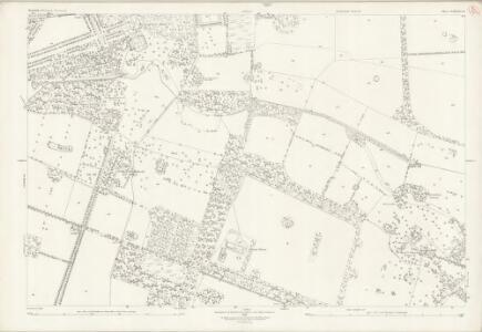 Norfolk LXXXIII.14 (includes: Lynford; Stanford) - 25 Inch Map