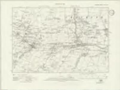 Durham XXIII.SW - OS Six-Inch Map