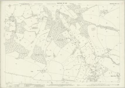 Berkshire XLI.8 (includes: Inkpen; Kintbury) - 25 Inch Map