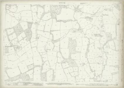 Surrey XL.5 (includes: Abinger; Ewhurst) - 25 Inch Map