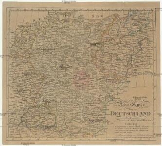 Reise Karte von Deutschland
