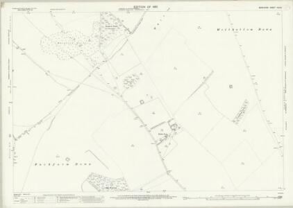 Berkshire XIX.10 (includes: Ashbury; Compton Beauchamp; Lambourn; Woolstone) - 25 Inch Map
