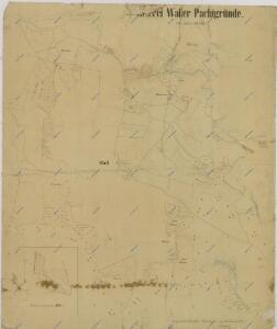 Mapa pronajatých pozemků dvora Val 1