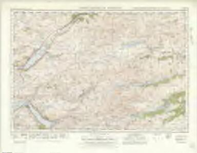 Lochcarron  & Dornie (36) - OS One-Inch map