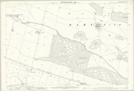 Durham XLVII.6 (includes: Langleydale And Shotton; Raby With Keverstone; Staindrop; Streatlam And Stainton) - 25 Inch Map