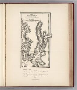 Facsimile:  Russian Map of Southern Half of the Koloshenski Archipelago.