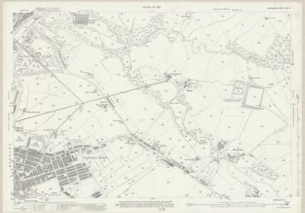 Lancashire LXIV.3 (includes: Briercliffe; Burnley; Cliviger; Worsthorne With Hurstwood) - 25 Inch Map