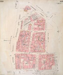 Insurance Plan of London Vol. XI: sheet 309
