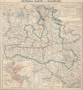 General-Karte von Salzburg