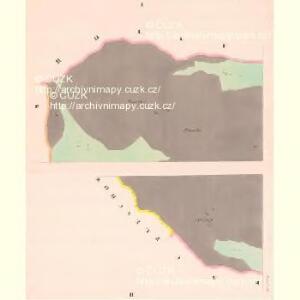 Przisnitz - c6247-1-001 - Kaiserpflichtexemplar der Landkarten des stabilen Katasters
