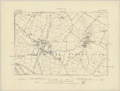 Leicestershire XXXVII.NE - OS Six-Inch Map