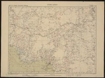 Carte de l'Afrique occidentale française. Forcados