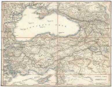 General Carte von Klein Asien