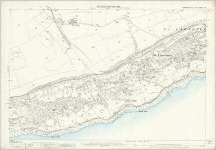Hampshire and Isle of Wight C.3 (includes: Niton; Ventnor) - 25 Inch Map