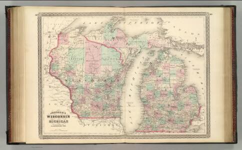 Wisconsin and Michigan.