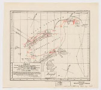 Chart showing the discoveries and approximate track of Edward Bransfield, Master R.N. in the hired brig 'Williams' of Blyth, when exploring the South Shetland Islands and the northern extremity of Graham Land in the year 1820