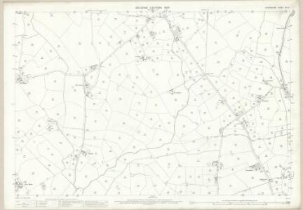 Shropshire XIV.6 (includes: Wem Rural; Whixall) - 25 Inch Map