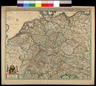 S[anctum] Imperium Romano-Germanicum oder Teutschland Mit Seinen Angräntzenden Königreichen Und Provincien