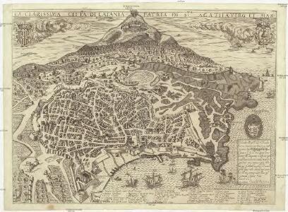La clarissima citta di Catania partia di S.ta Agatha verg. et mar