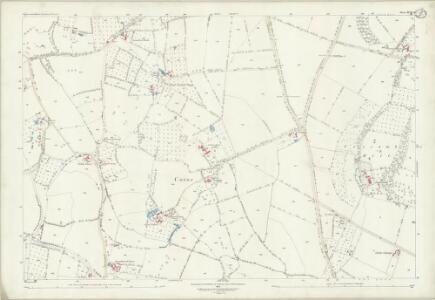 Gloucestershire XVIII.9 (includes: Ashleworth; Corse; Hartpury) - 25 Inch Map
