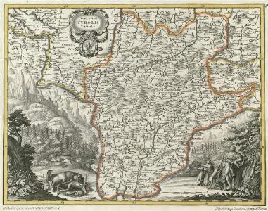 Comitatus Tyrolis Tabula