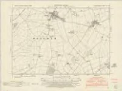 Leicestershire XIII.SE - OS Six-Inch Map