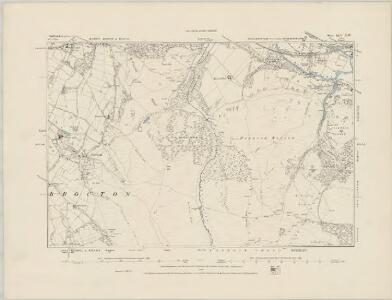 Staffordshire XLIV.SE - OS Six-Inch Map