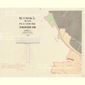 Podhrad - c1894-1-009 - Kaiserpflichtexemplar der Landkarten des stabilen Katasters