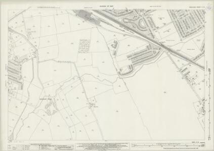 Middlesex X.13 (includes: Ruislip; Uxbridge) - 25 Inch Map