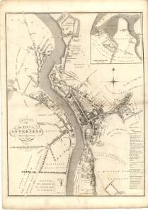Plan of the Town of Inverness from actual survey.