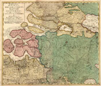 De Zuider Deelen Der Provincien van Holland en Untrecht; Het Graafschap Zeeland, Hollands Brabant, Het Gebied van Antwerpen en Staats Vlaanderen. Ofte Het Noorder Deel van De Stoel des Oorlogs In Nederland tot Parys toe
