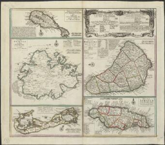 Dominia Anglorum in praecipuis Insulis Americae ut sunt Insula S. Christophori, Antegoa, Iamaica, Barbados nec non Insulae Bermudes vel Sommers dictae